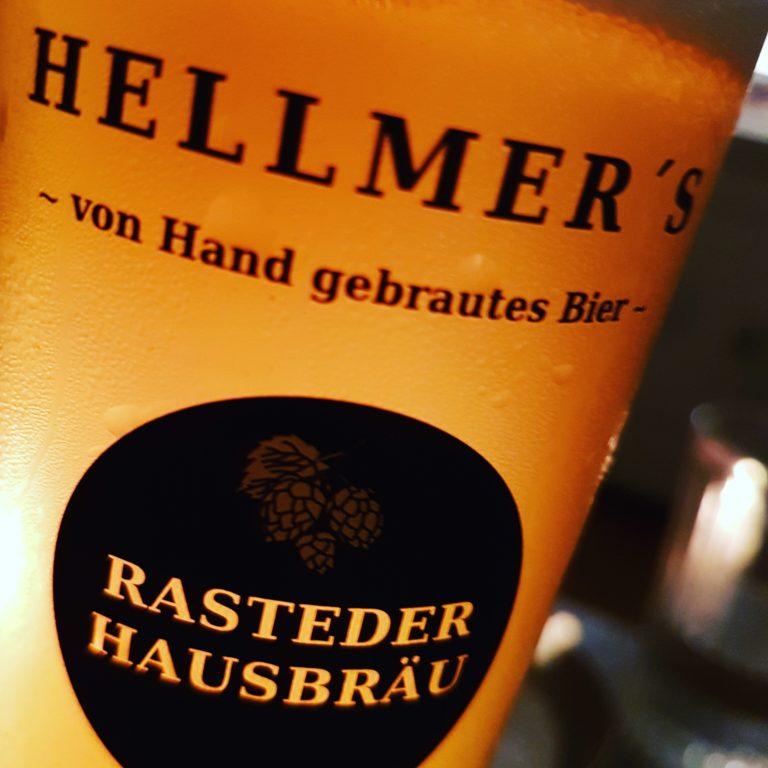 Flasche von der Brauerei Hellmer